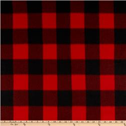 Polar Fleece Kara Check Black/Red