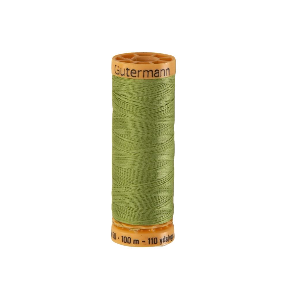 Gutermann Natural Cotton Thread 100m/109yds Nile Green