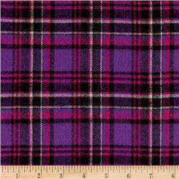 Windstar Flannel Plaid Purple/Black