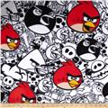 Angry Birds Fleece Comic White