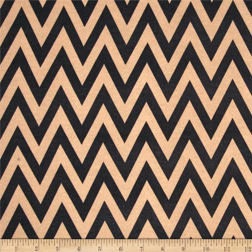 Ponte de Roma Chevron Tan/Black
