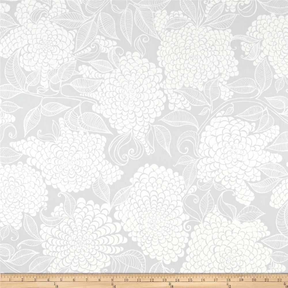 Kaufman Mystic Canvas By Valori Wells Floral Bouquet