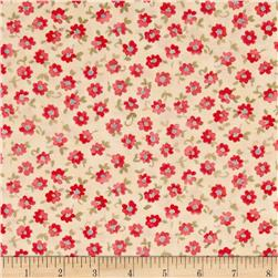 Moda Nanette Single Bloom Ivory/Rose