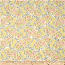 Bon Bon Bebe Floral Lattice Yellow
