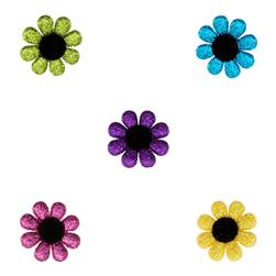 Dress It Up Embellishment Buttons  Fun Flowers