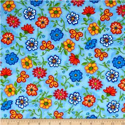 Emily's Artful Days Floral Blue