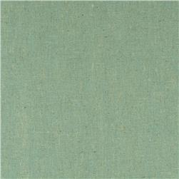 Contempo Hand Made Faux Linen Solid Light Turquoise