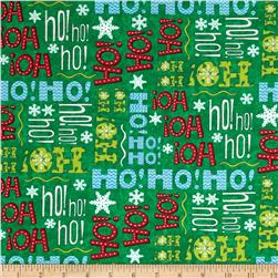 Moda Ho! Ho! Ho! Christmas Tree Green