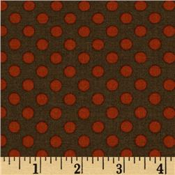 Moda Collections for a Cause Love Reproduction Dot Carry Over Historical Blenders BrownRed