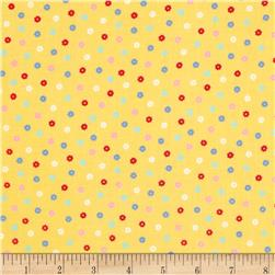 Lecien Minny Muu Tiny Flowers Yellow