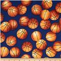 Sports Life Basketballs Royal
