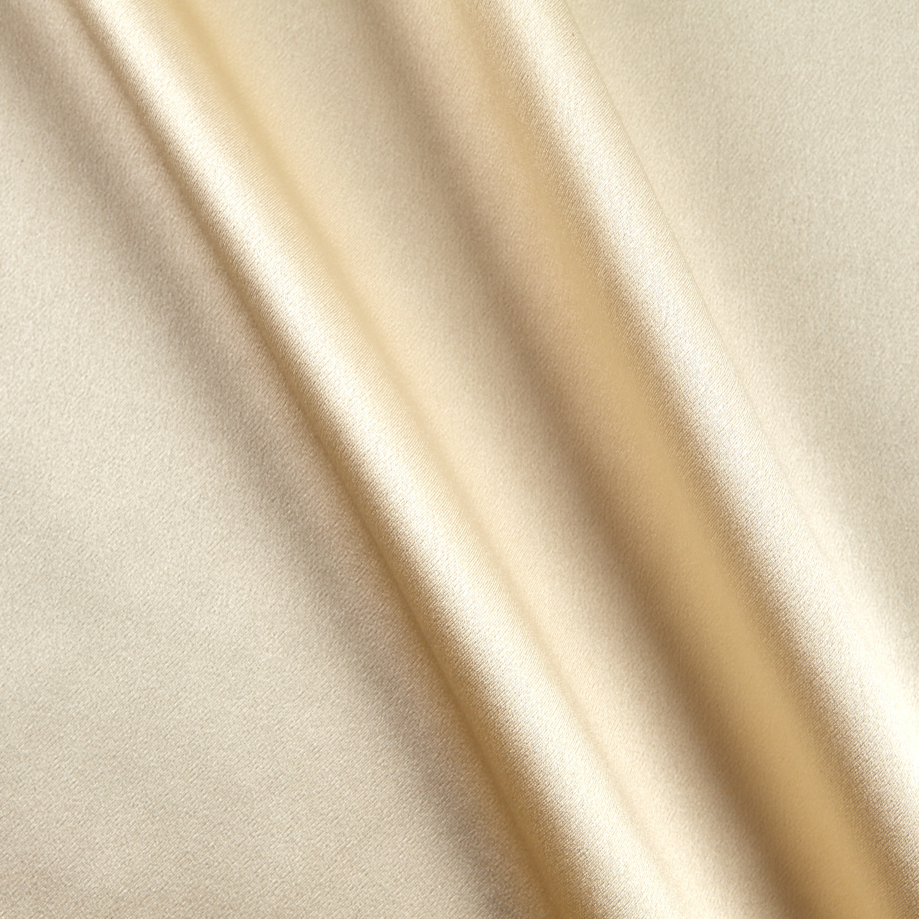 Image of 100% Silk Charmeuse Champagne Fabric