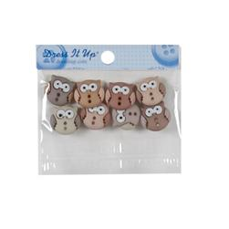 Dress It Up Embellishment Buttons  Fat Cats