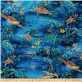Hoffman Tropicals Turtle Reef Royal Blue