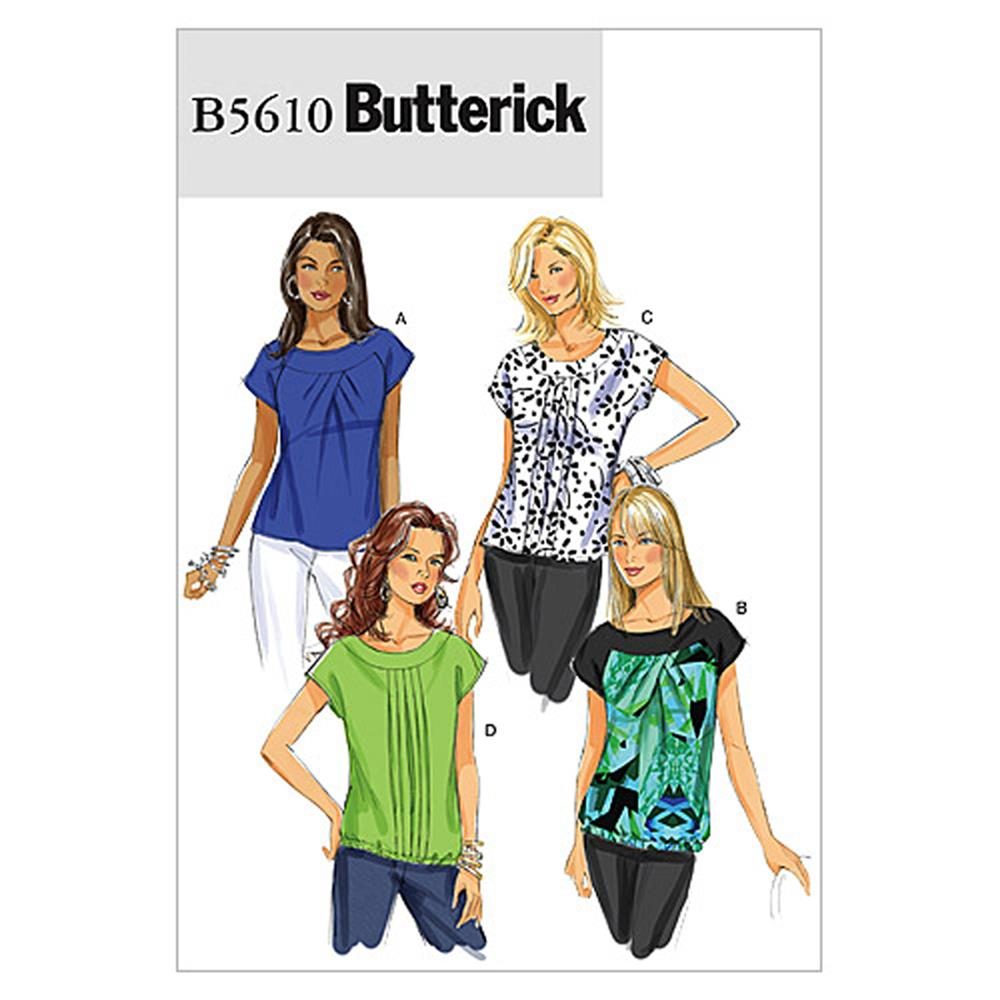 Butterick Misses' Top Pattern B5610 Size C50