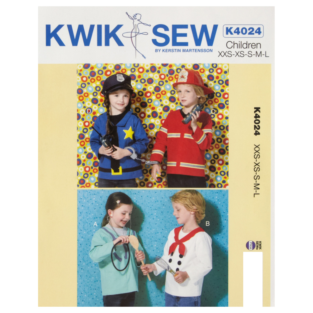 Kwik Sew Children Costume Pattern