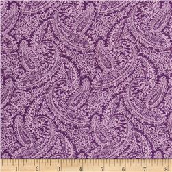 Dots and More Paisley Lavender