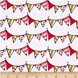 Lemon Squeezy Pennants Multi/White