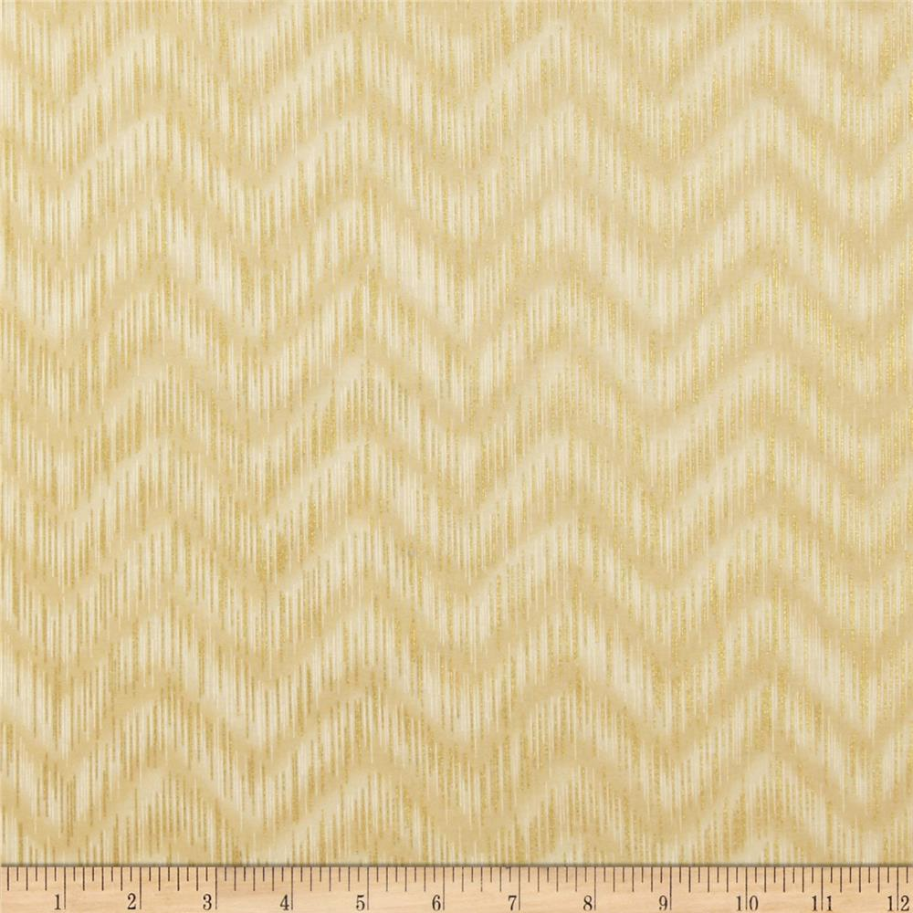 Imperial Collection Metallics Dash Chevron Natural