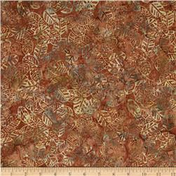 Moda Hope Chest Batiks Leaves Golden Wheat