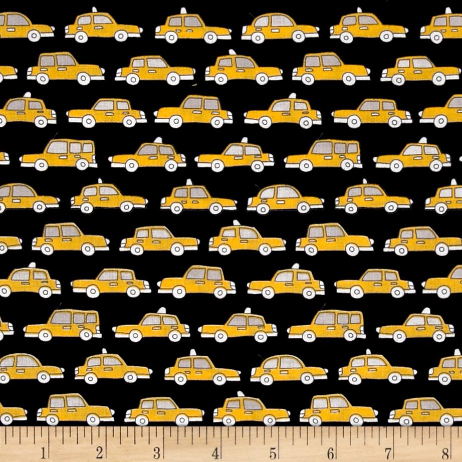 Uptown Cars Black/Yellow