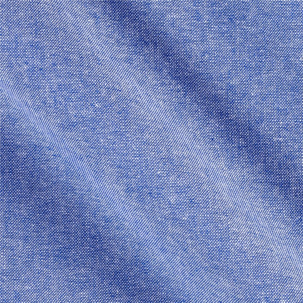 Chambray french blue discount designer fabric for Chambray fabric