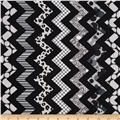 Chevron Chic Patterned Chevron Black/Grey