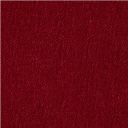 Washable Wool Solid Burgundy