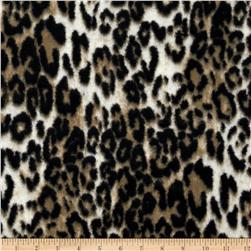 Luxury Minky Cuddle Jaguar Taupe/Black