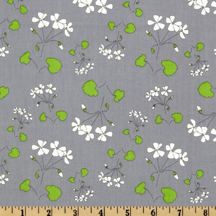 The Red Thread Floral Grey