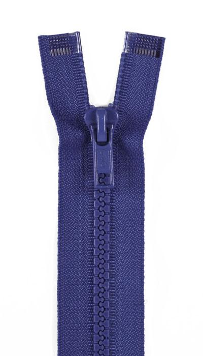 "Sport Separating Zipper 24"" French Blue"
