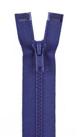 Sport Separating Zipper 24'' French Blue