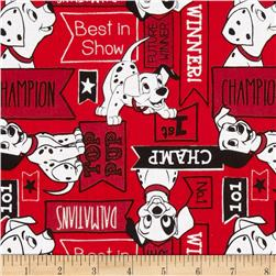 Disney Dalmatians Signs Red