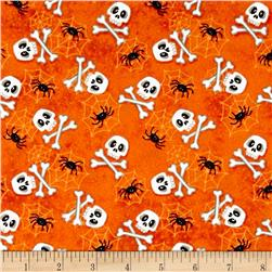 The Count Skulls Orange