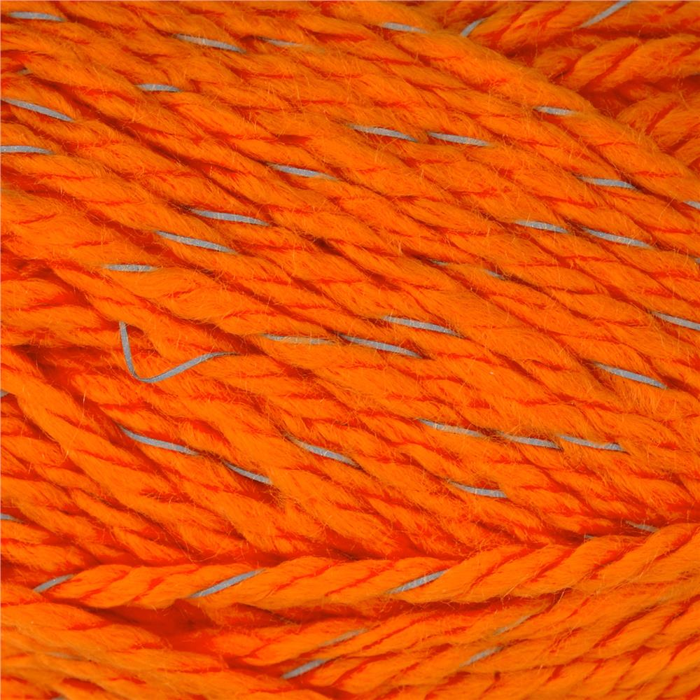 Red Heart Reflective Yarn Neon Orange