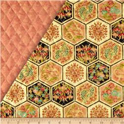 Asian Fanfare Double Sided Quilted Patchwork Multi