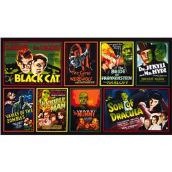 Classic Horror Flims Large Posters Panel Spooky Black