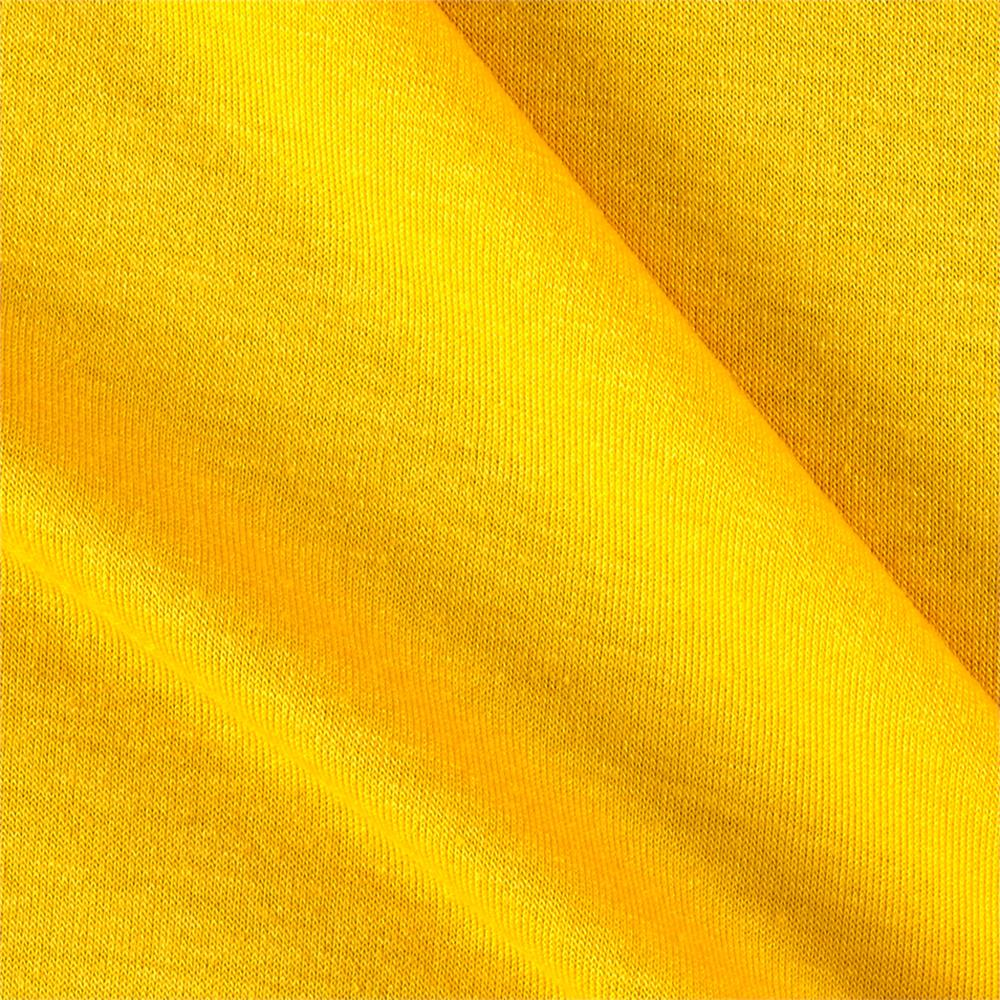 7ec9cc057d0 Polyester Jersey Knit Solid Bright Yellow - Discount Designer Fabric ...