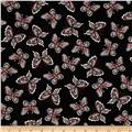 Rubies Butterflies Black