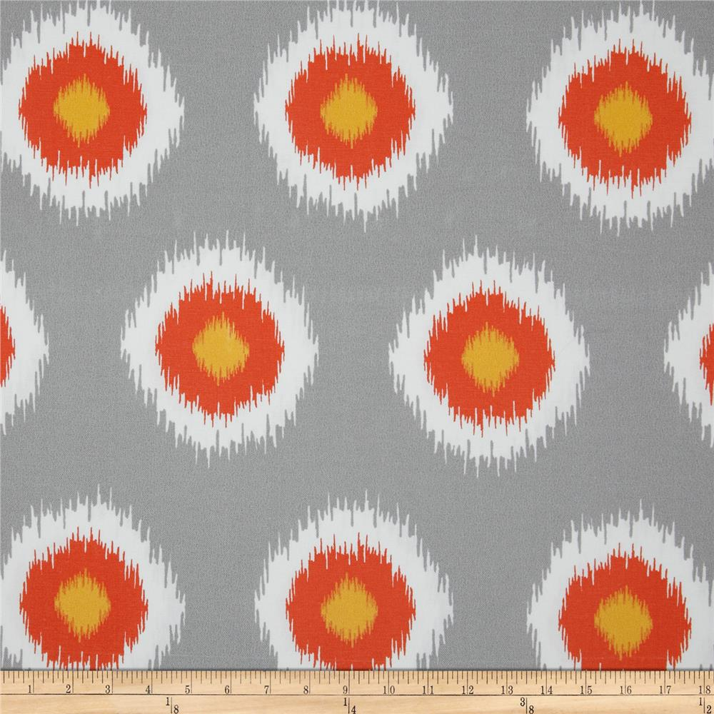Premier Prints Indoor/Outdoor Ikat Domino Citrus