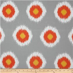 Premier Prints Indoor/Outdoor Ikat Domino Citrus Fabric