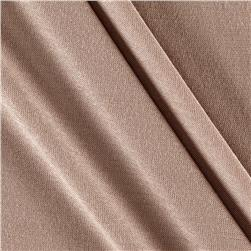 Rayon Jersey Knit Solid Tan