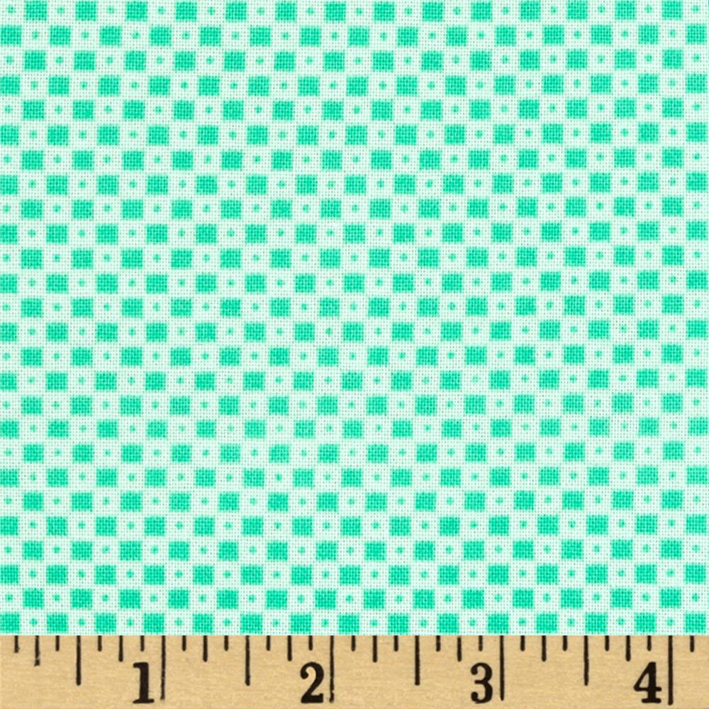 Cotton + Steel Mesa Dining Car Teal