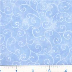 Moda Marble Swirls (9908-34) Sky Blue Fabric