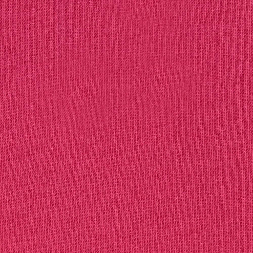 Cotton Lycra Jersey Knit Hot Pink