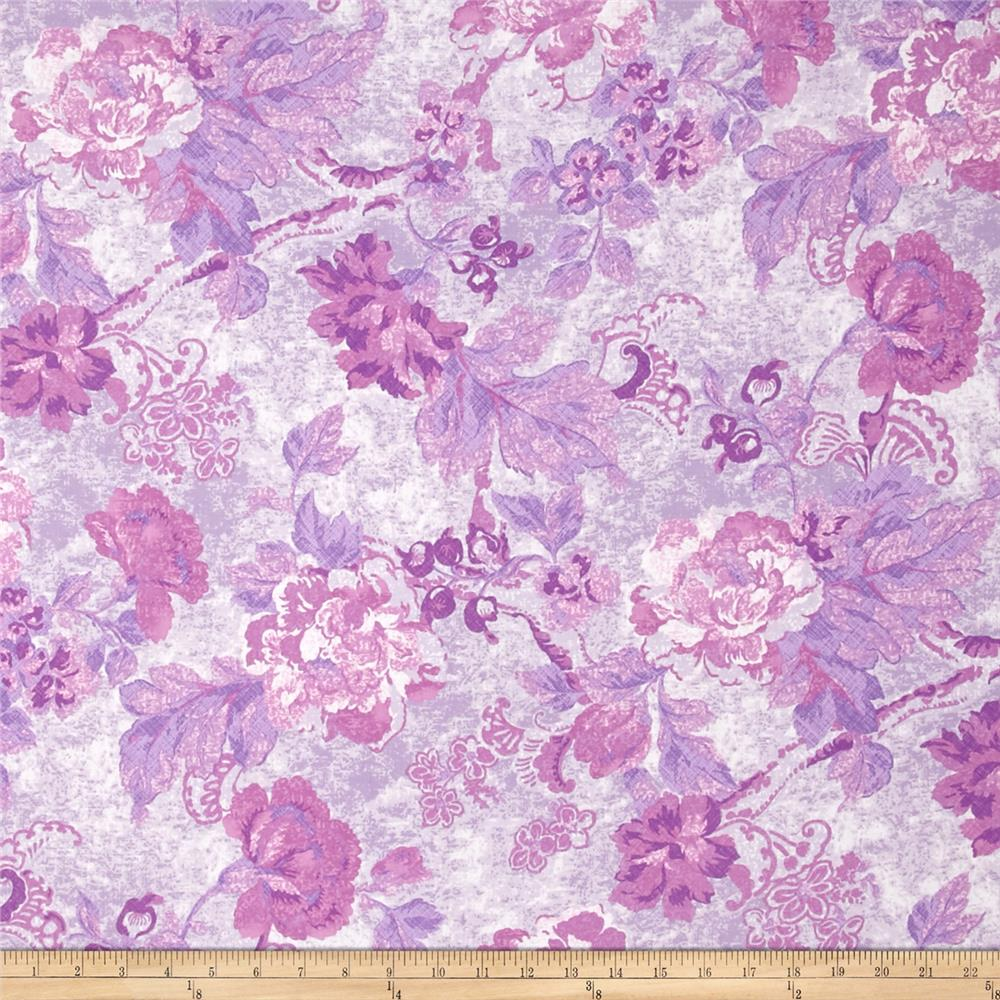 Tracy Porter Ardienne Tonal Floral Purple