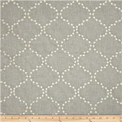HGTV HOME Embroidered Pearl Drop Smoke