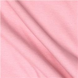 Cotton Spandex Jersey Knit Solid Powder Pink