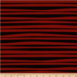Monkey's Bizness Stockade Stripe Red/Black