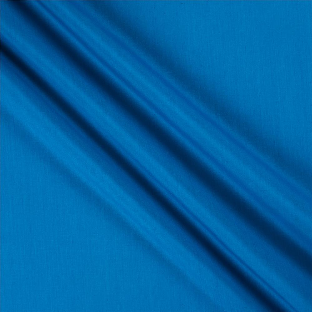 60'' Poly Cotton Broadcloth Ocean Blue Fabric By The Yard